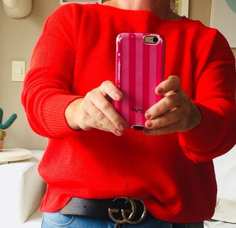 Sweater Candy Red