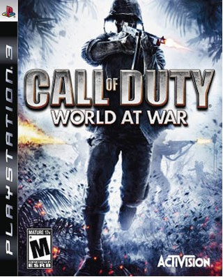 CALL OF DUTY: WORLD AT WAR PS3 USADO