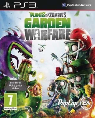 PLANTS VS ZOMBIES: GARDEN WARFARE PS3 NUEVO