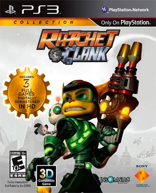 RATCHET & CLANK COLLECTION PS3 USADO