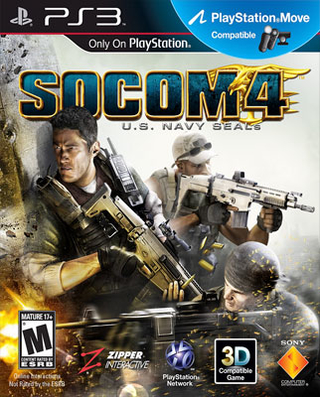 SOCOM 4 U.S. NAVY SEALS PS3 USADO