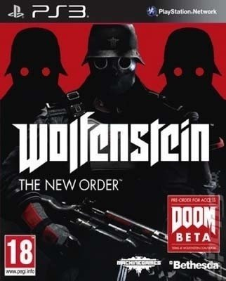 WOLFESTEIN: THE NEW ORDER PS3 NUEVO