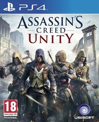 ASSASSIN´S CREED: UNITY PS4 NUEVO