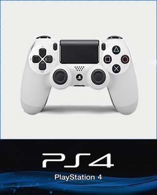 JOYSTICK DUAL SHOCK ORIGINAL BLANCO PS4 NUEVO