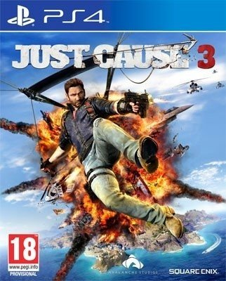 JUST CAUSE 3 PS4 NUEVO