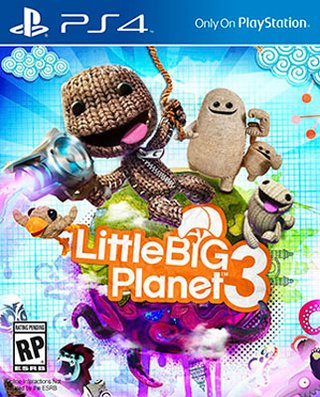 LITTLE BIG PLANET 3 PS4 NUEVO