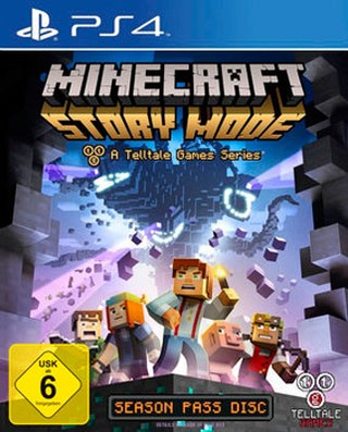 MINECRAFT: STORY MODE PS4 NUEVO