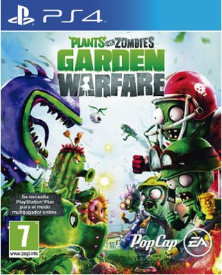 PLANTS VS ZOMBIES: GARDEN WARFARE PS4 NUEVO