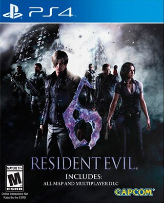 RESIDENT EVIL 6 (2016) PS4 NUEVO