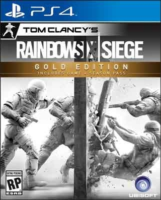 TOM CLANCY´S RAINBOWSIX: SIEGE - GOLD EDITION - PS4 NUEVO