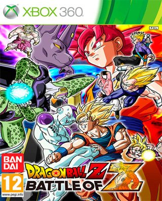DRAGONBALL BATTLE OF Z XBOX 360 NUEVO