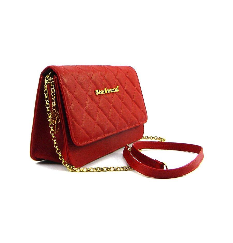 711a08a8f Compre Bolsa Clutch Vermelha Matelassé Festa, Redwood