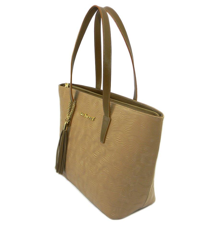 66662ef56 Bolsa Feminina Saco Grande Couro Caramelo, Compre Agora, Redwood