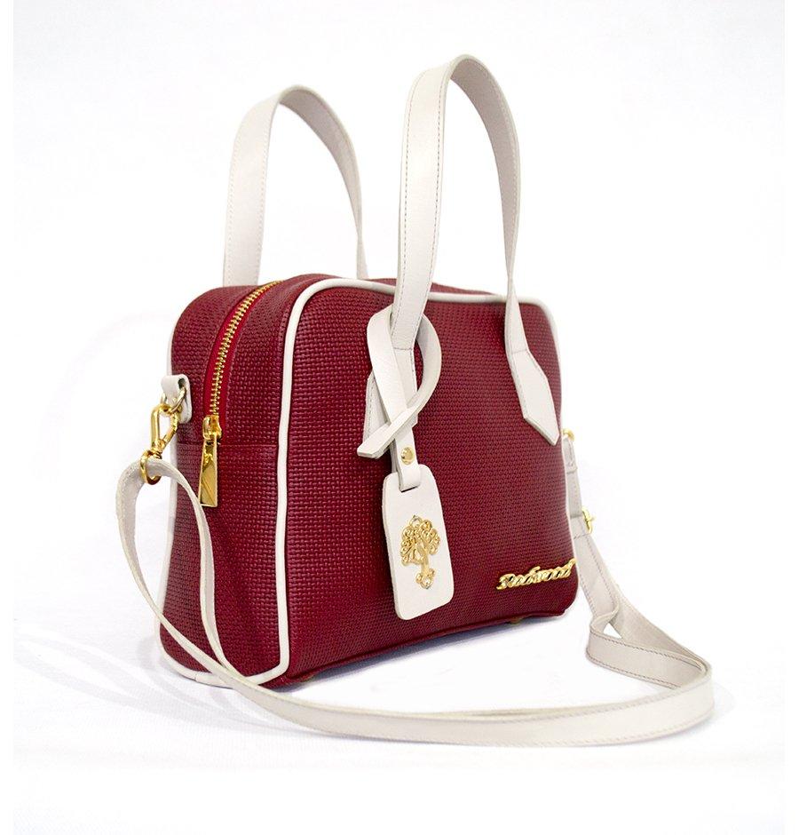 0e6cab1e1 Bolsa Feminina Transversal Couro Vermelha, Compre Agora, Redwood