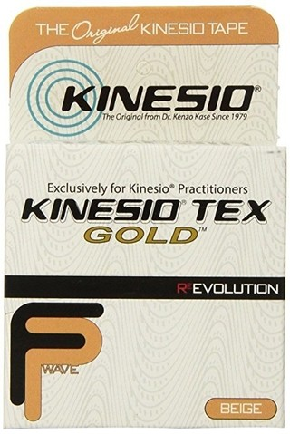Cinta Kinesio Taping Tex Gold Vendaje Tape 5m Piel