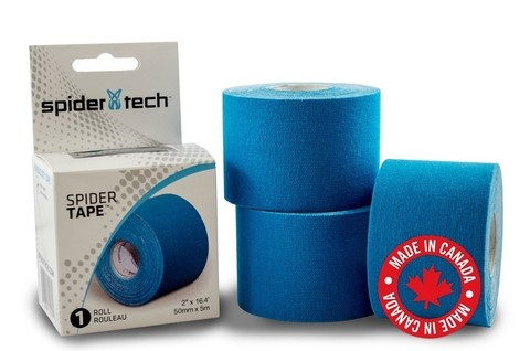 Cinta Kinesio Vendaje Tape Tapping Spider Tech Spidertech Azul
