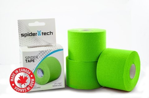 Cinta Kinesio Vendaje Tape Tapping Spider Tech Spidertech Verde