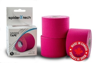 Cinta Kinesio Vendaje Tape Tapping Spider Tech Spidertech Fucsia