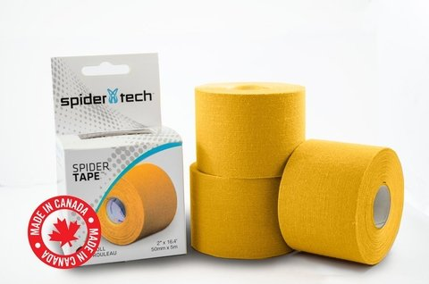 Cinta Kinesio Vendaje Tape Tapping Spider Tech Spidertech Amarillo
