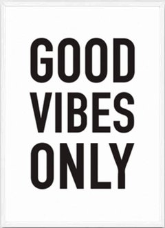 (13) GOOD VIBES ONLY - comprar online