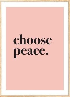 CHOOSE PEACE en internet