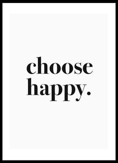 CHOOSE HAPPY en internet