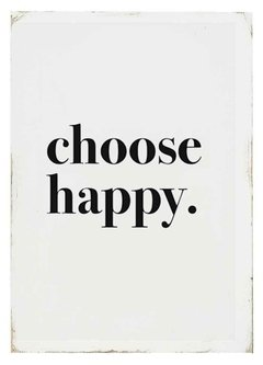 CHOOSE HAPPY - tienda online