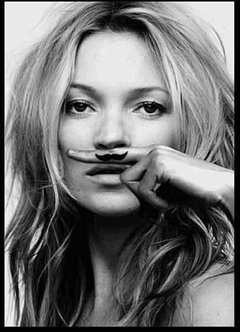KATE MOSS. Life is a joke. en internet