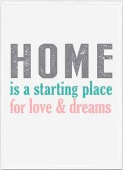 (23) HOME IS A STARTING PLACE 2 - comprar online