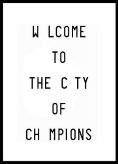 (313) CITY OF CHAMPIONS - comprar online