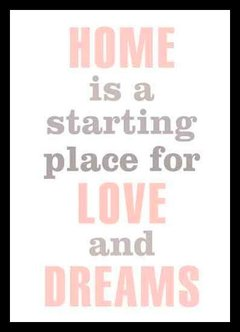 "(38) CUADRO ""HOME IS A STARTING PLACE"""