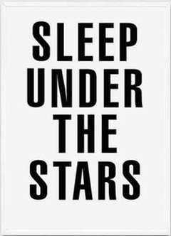 "(3) CUADRO ""SLEEP UNDER THE STARS"" - comprar online"