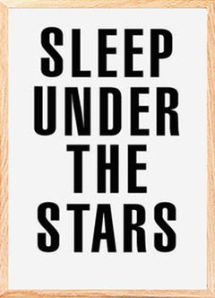"(3) CUADRO ""SLEEP UNDER THE STARS"" en internet"