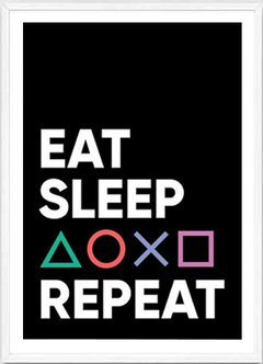 (450) EAT SLEEP REPEAT - comprar online