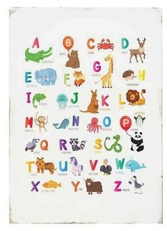 (514) ABC INFANTIL - EMOTY Wall Deco