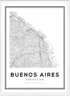 (574) MAPA BUENOS AIRES