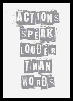 "(7) CUADRO ""ACTIONS SPEAK LOUDER"""