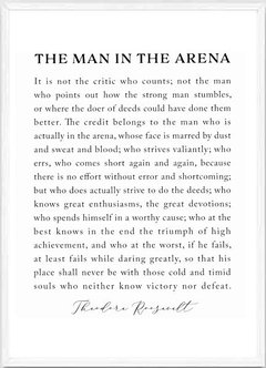 (733) THE MAN IN THE ARENA en internet