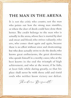 (733) THE MAN IN THE ARENA