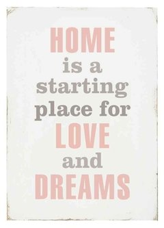 "(38) CUADRO ""HOME IS A STARTING PLACE"" - EMOTY"