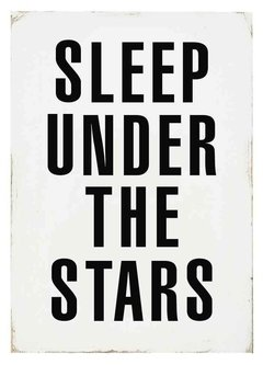 "(3) CUADRO ""SLEEP UNDER THE STARS"" - EMOTY"
