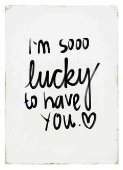 "(6) CUADRO ""I'M SO LUCKY"" - EMOTY"