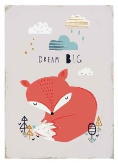 (74) DREAM BIG - EMOTY Wall Deco