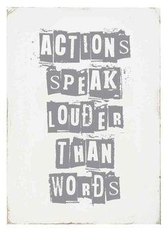 "(7) CUADRO ""ACTIONS SPEAK LOUDER"" - EMOTY"