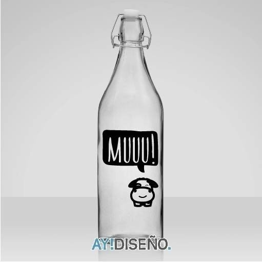 Vinilos Botellas en internet