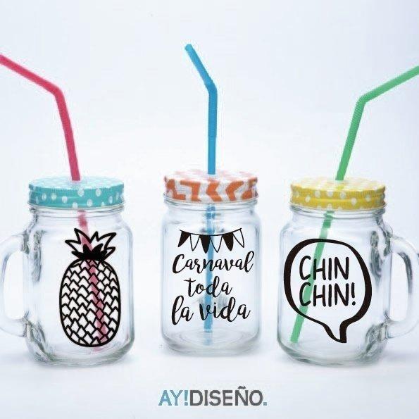 Vinilos vasos comprar en aytienda - Vasos personalizados ...
