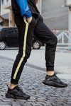 TRACK PANT YELLOW STRIPE