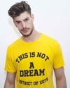 "T-SHIRT ""NOT A DREAM YELLOW"" - comprar online"