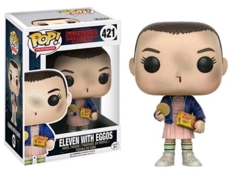 ELEVEN WITH EGGOS - STRANGER THINGS
