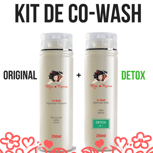 KIT COM CO-WASH ORIGINAL E CO-WASH DETOX